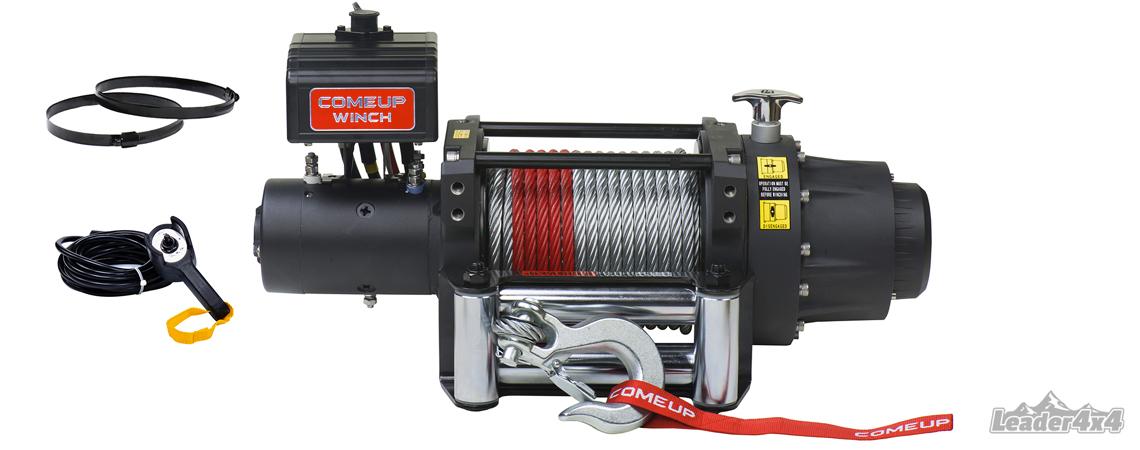 Modèle de treuil de la marque Comeup Winch vendu par Leader4x4, le spécialiste de l'équipement de votre 4x4