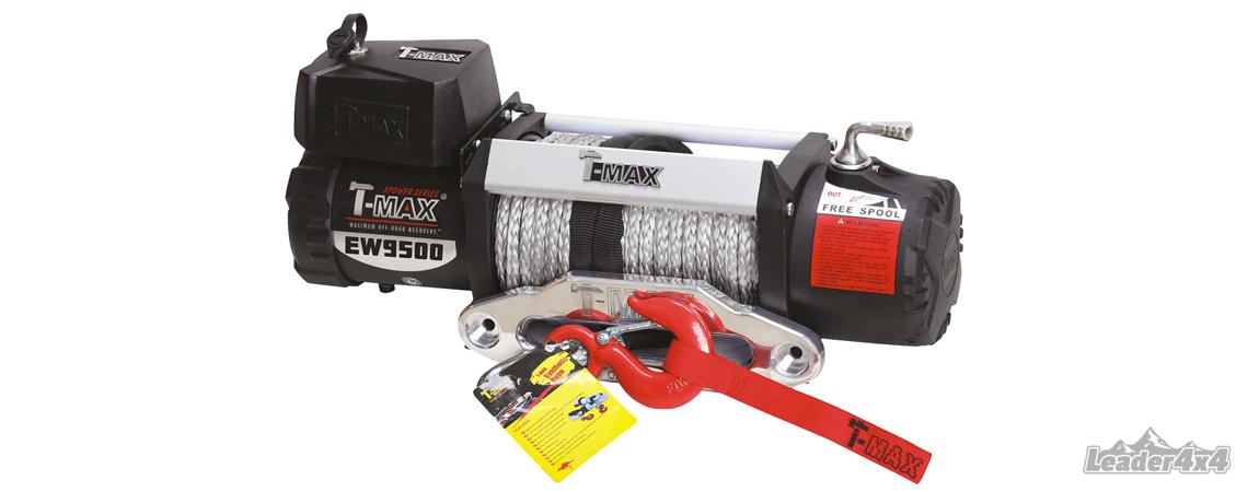 Modèle de treuil de la marque Tmax distribué par Leader4x4, le spécialiste de l'équipement de votre 4x4