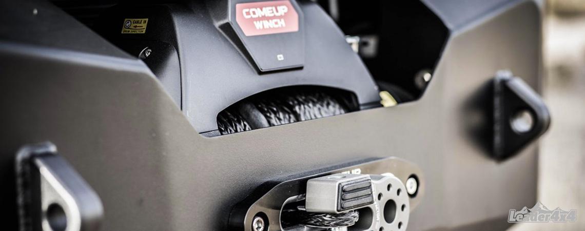 Treuil Comeup Winch monté sur un pare-chocs acier de type bumper