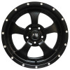 Jante aluminium Black Mountain (couleur: noir mat) 9x17 , ET: -13 , 5x127 (pour jeep wrangler JK, Grand Cherokee WJ, WG, WH, WK, ...) (ATTENTION STOCK LIMITE)