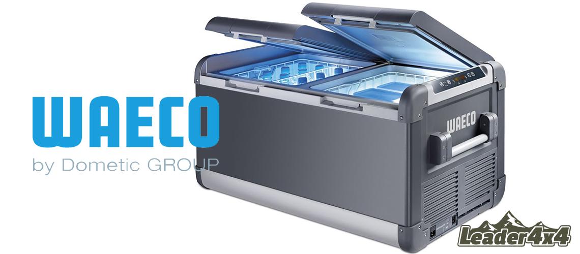 Modèle de glacière électrique Waeco haut de gamme, incluant un compartiment réfrigérateur jusqu'à +10°C et un compartiment congélateur jusqu'à -22°C. C'est la glacière frigorifique idéale pour partir en raid plusieurs jour lors de vos sortie 4x4. Il est toutefois indispensable de coupler votre batterie principale à une batterie secondaire à déchargement lent. Un coupe circuit est également recommandé dans ce type de montage.