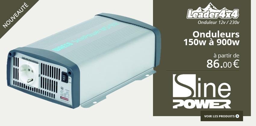 Onduleurs 12v 230v SinePower